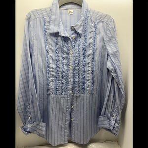 JCrew 100% cotton dress shirt